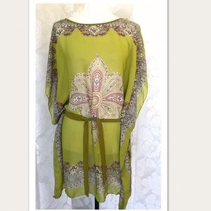NK 100% Silk Kaftan Dress  Excellent Condition